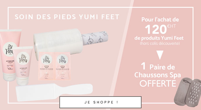 Offre Yumi Feet Chaussettes spa - Septembre 2021