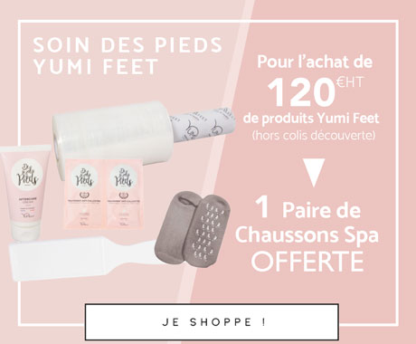 Offre Yumi Feet Chaussettes spa Mobile - Septembre 2021