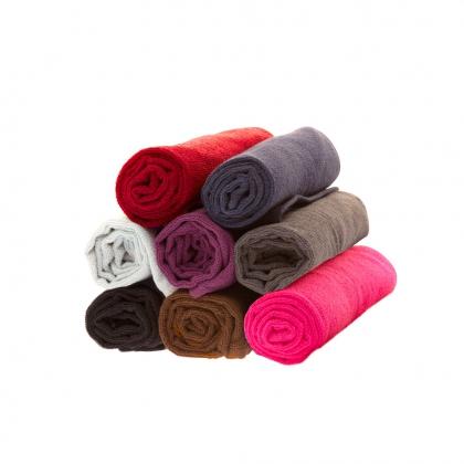 12 serviettes de coiffure éponge