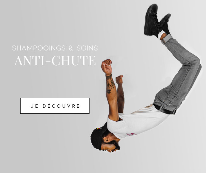 Shampooings & soins anti chute pour hommes