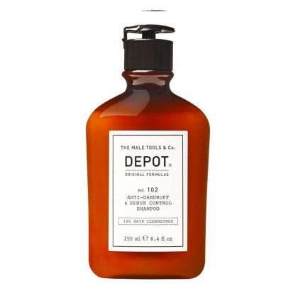 Anti-Dandruff & Sebum Control Shampoo No. 102 - Depot - 250 ml
