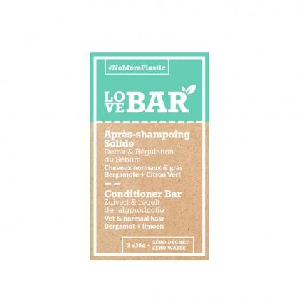Après-shampooing solide Détox & Régulation