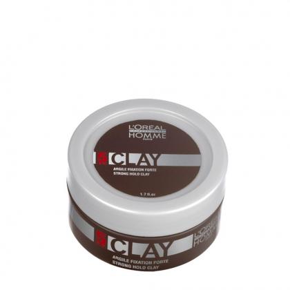 Argile de fixation Clay Homme - L\'Oréal Professionnel - 50 ml