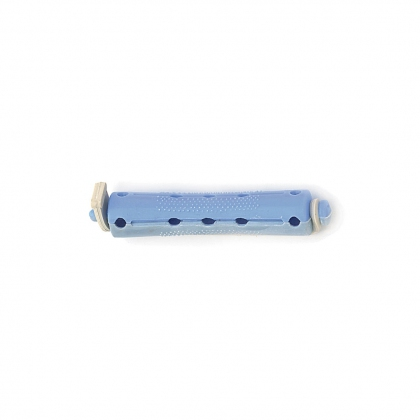 Bigoudis bi-color Tradition - 70 mm - Gris/Bleu