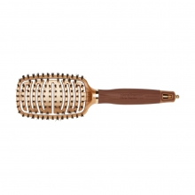 Brosse flexible Nanothermic C+I 100% Sanglier - Olivia Garden