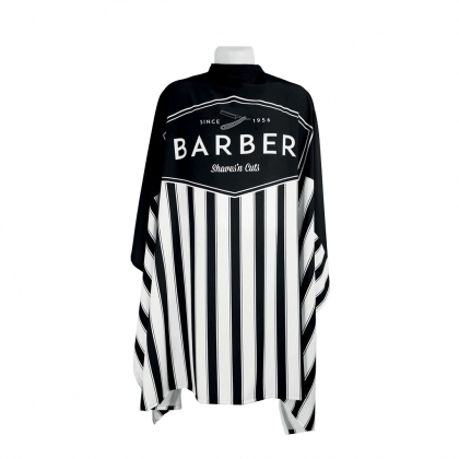 CAPE AIMANTS BARBIER VINTAGE MINA RAINE NOIR