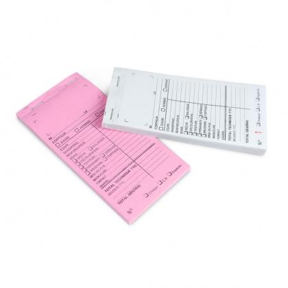 Carnet de caisse - Avec numéro