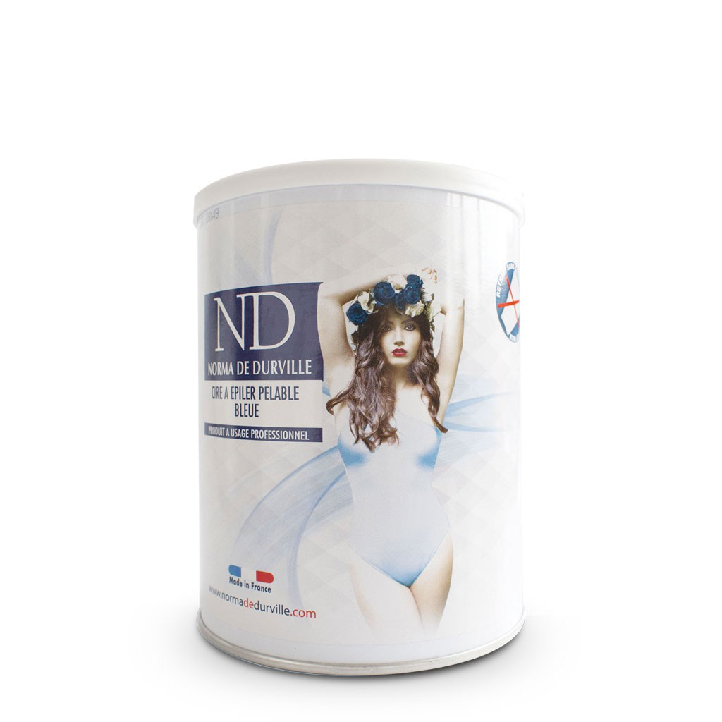 Cire pelable Azulène Bleue - Norma de Durville