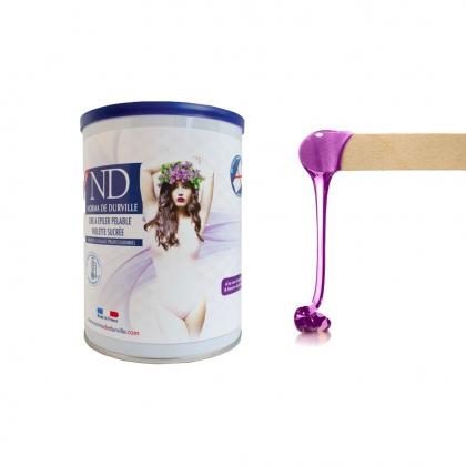 Cire pot Violette Sucrée