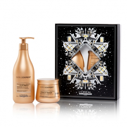 Coffret Duo L\'Oréal Absolut Repair Gold Serie Expert