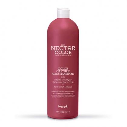 Color Capture Acid Shampoo The Nectar Color - Nook - 1 L