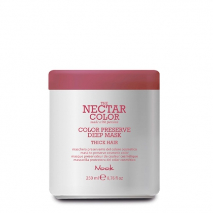 Color Preserve Deep Mask Thick Hair The Nectar Color - Nook - 250 ml