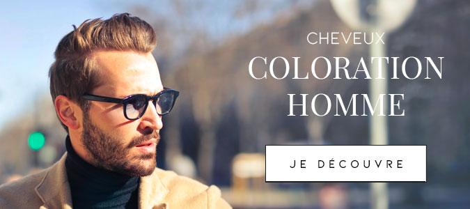 Colorations cheveux pour homme
