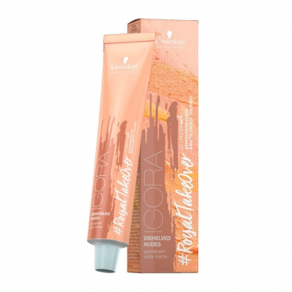 Coloration permanente Igora #RoyalTakeOver Disheveled Nudes - Schwarzkopf Professional - 60 ml