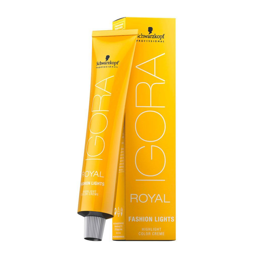 Coloration permanente Igora Royal Fashion Lights - Schwarzkopf Professional - 60 ml