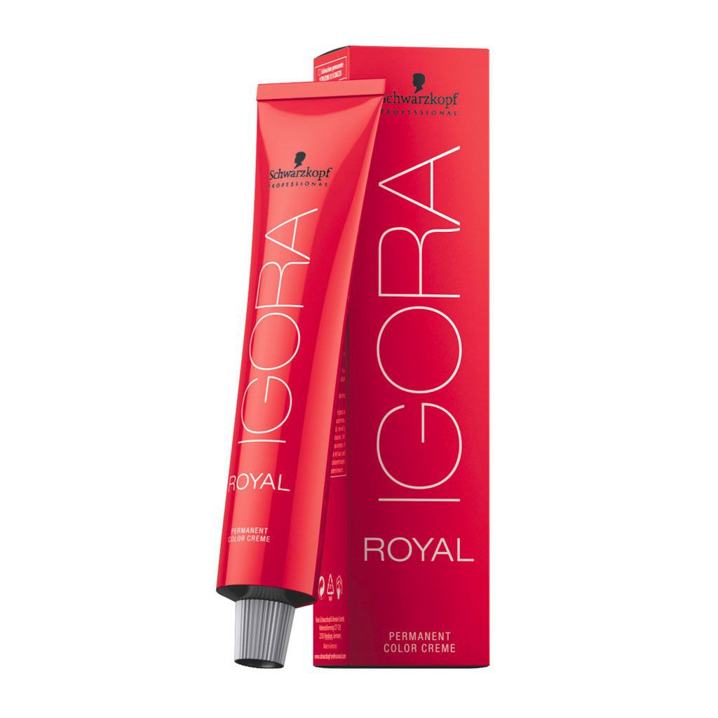 Coloration permanente Igora Royal - Schwarzkopf Professional - 60 ml