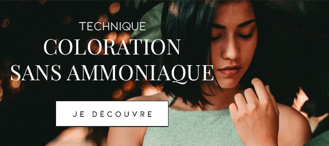 technique : coloration sans ammoniaque
