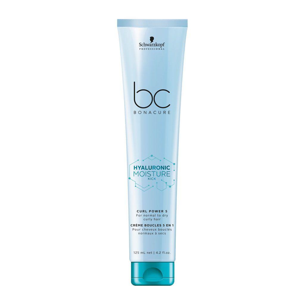 Crème boucles 5 en 1 Hyaluronic Moisture Kick BC Bonacure - Schwarzkopf Professional - 125 ml