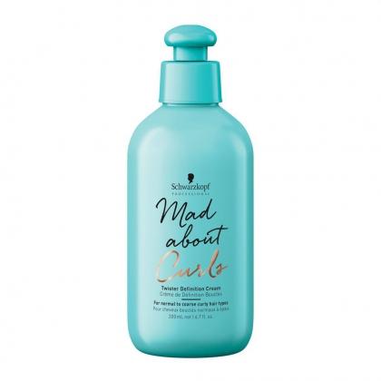Crème de définition boucles Mad About Curls - Schwarzkopf Professional - 200 ml