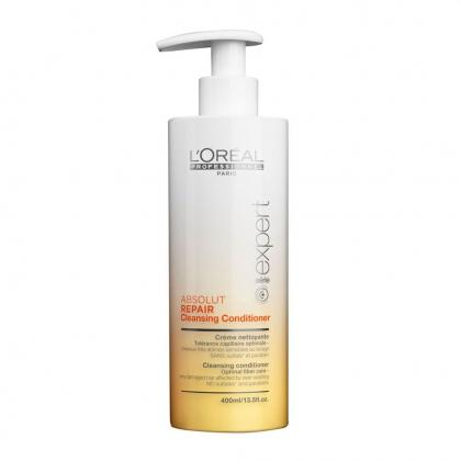 Crème nettoyante Absolut Repair Série Expert - L\'Oréal Professionnel - 400 ml