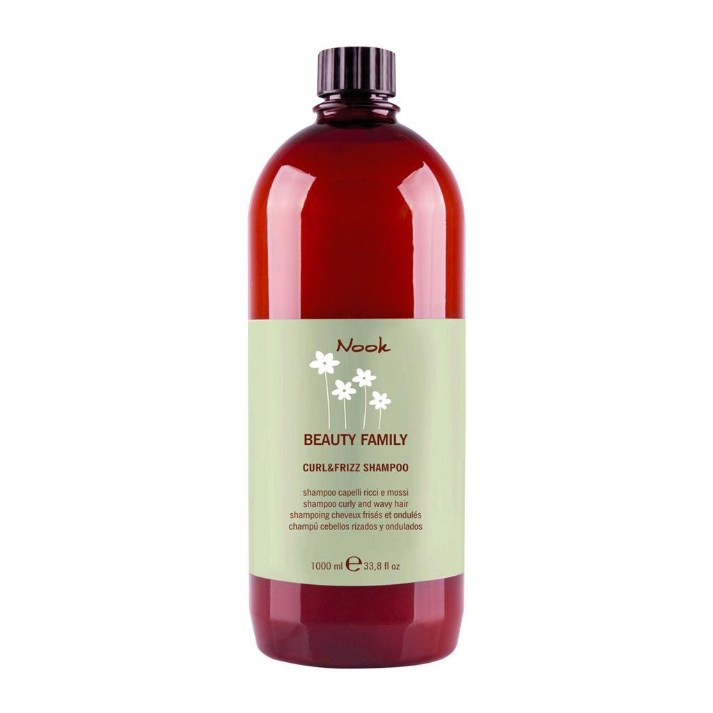 Curl & Frizz Shampoo Beauty Family - Nook - 1 L