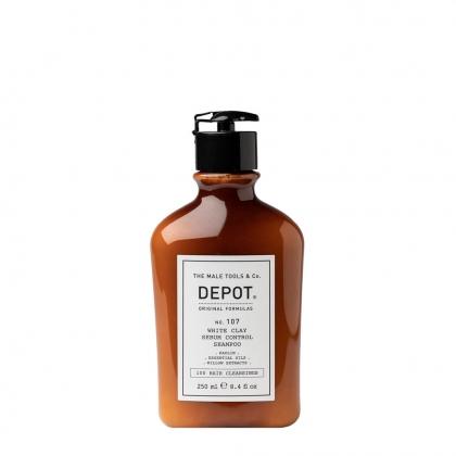DEPOT WHITE CLAY SEBUM SH.N°107 250ML