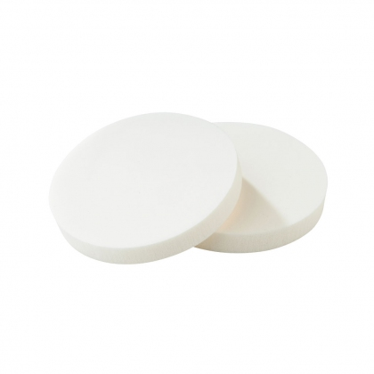 EPONGE LATEX RONDE BLANCHE D70MM X2