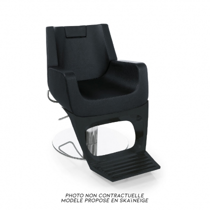 Fauteuil Barber Boss Light blanc