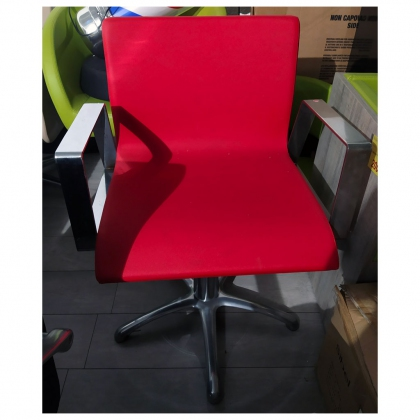Fauteuil Iron Rouge PYL