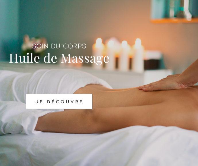 Soins du corps : huiles de massage