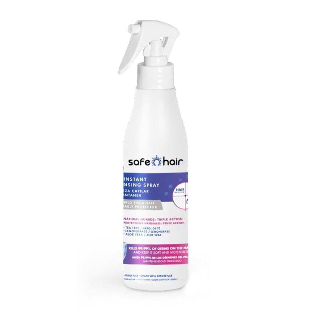 Instant Cleansing Spray Anticeptique Capillaire Safe Hair