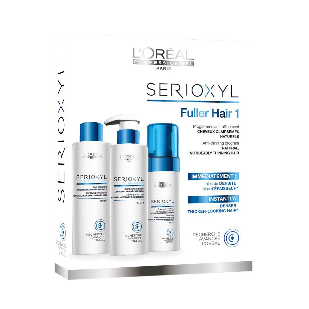 Kit Fuller Hair pour cheveux affinés naturels  - L\'Oréal Professionnel - 625 ml