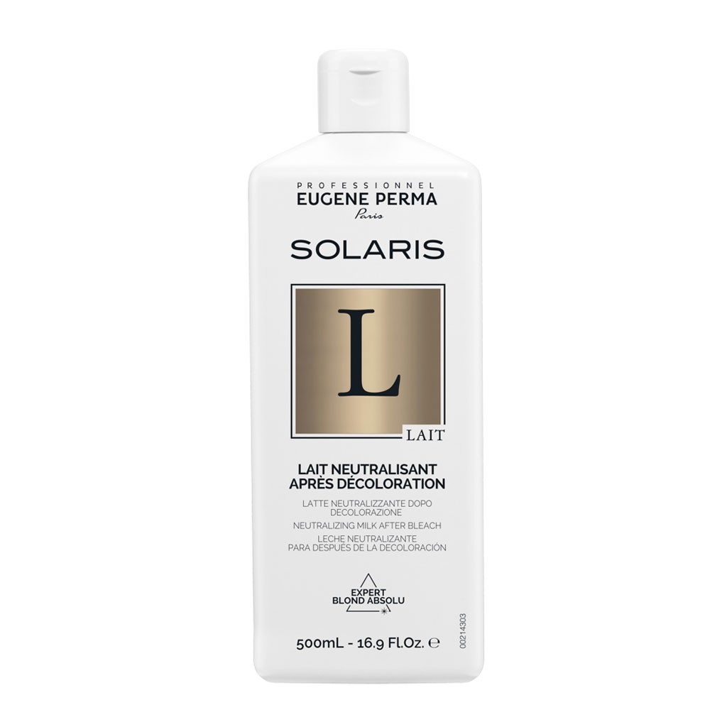 Lait Neutralisant Post-décoloration Solaris - Eugène Perma Professionnel - 500 ml