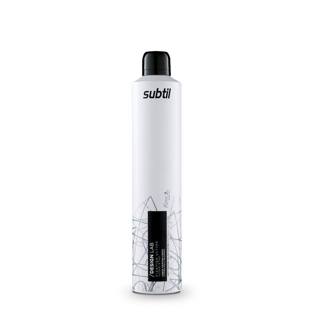 Laque fixation forte Design Lab - Subtil - 300 ml