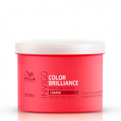 Masque Color Brilliance, cheveux épais Invigo - Wella Professionals - 500 ml