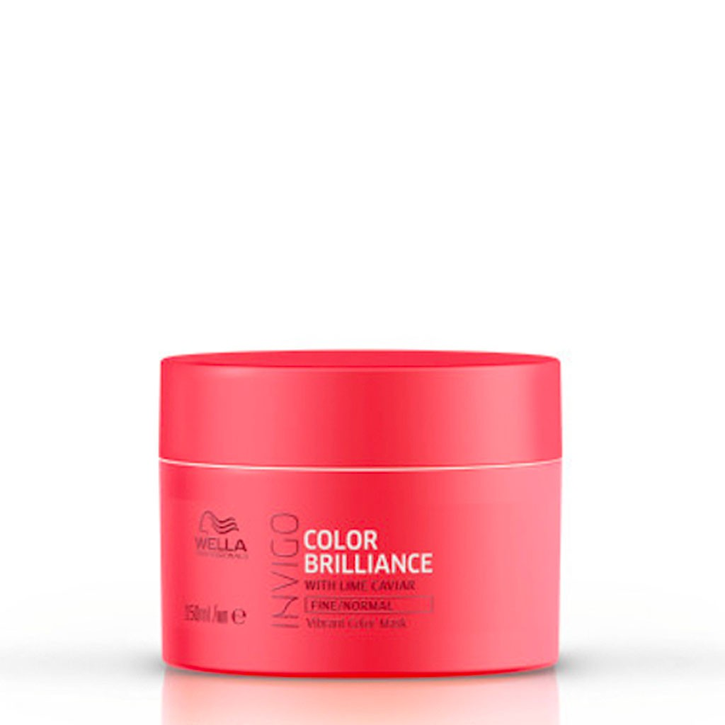 Masque Color Brilliance, cheveux fins et normaux Invigo - Wella Professionals - 150 ml