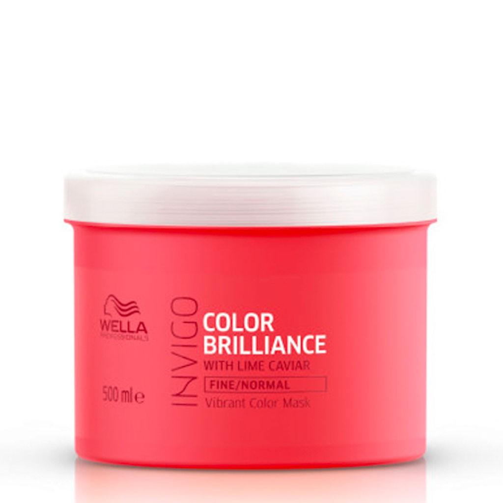 Masque Color Brilliance, cheveux fins et normaux Invigo - Wella Professionals - 500 ml