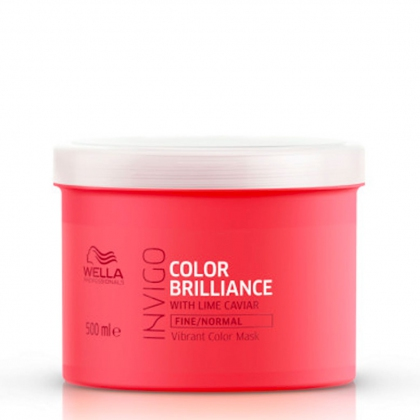 Masque Color Brilliance, cheveux fins et normaux Invigo - Wella Professionals - 500 ml