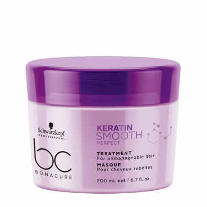 Masque Keratin Smooth Perfect BC Bonacure - Schwarzkopf Professional - 200 ml