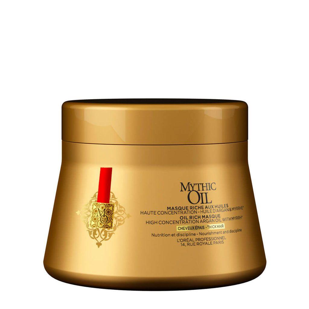 Masque Mythic Oil pour cheveux épais - L\'Oréal Professionnel - 200 ml