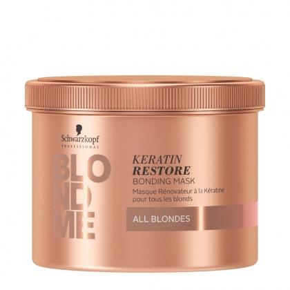 Masque rénovateur à la Kératine BlondMe - Schwarzkopf Professional - 500 ml
