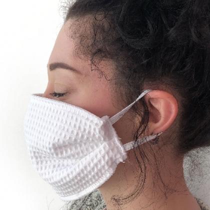 Masque réutilisable en nid d\'abeille