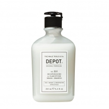 Moisturizing & Clarifying Beard Shampoo No. 501 - Depot - 250 ml
