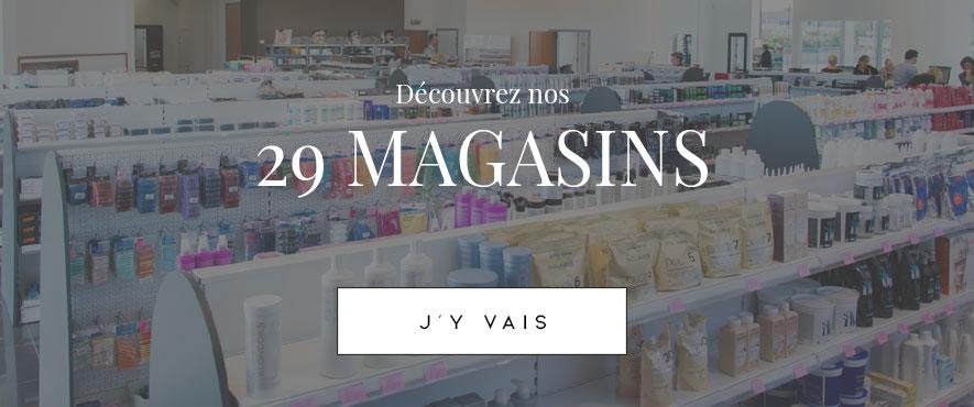 Nos 29 magasins La Beauté Pro