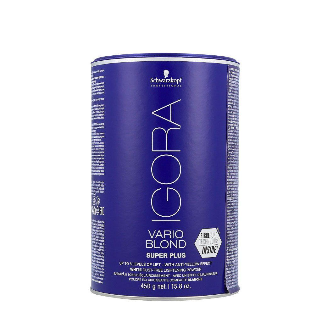 Poudre décolorante Igora Vario Blond Super Plus - Schwarzkopf Professional - 450 gr