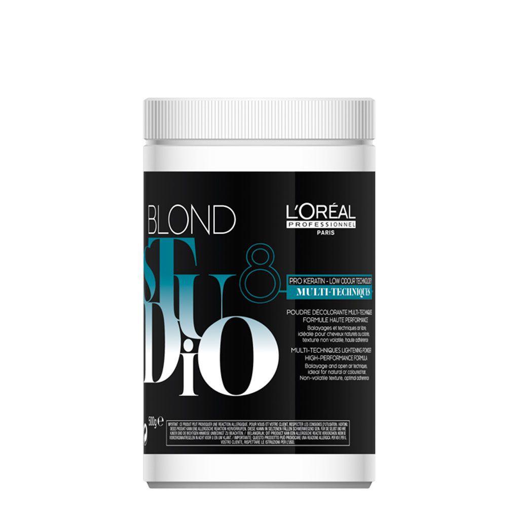 Poudre multi-techniques Blond Studio - L\'Oréal Professionnel - 500 gr