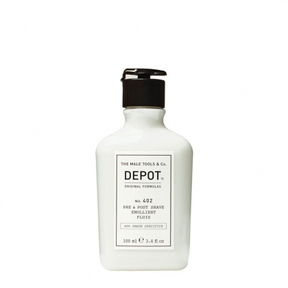Pre & Post Shave Emollient Fluid No. 402 - Depot - 100 ml
