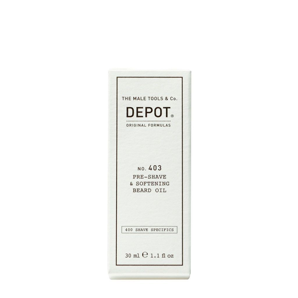 Pre-shave & Softening Beard Oil No. 403 - Depot - 30 ml