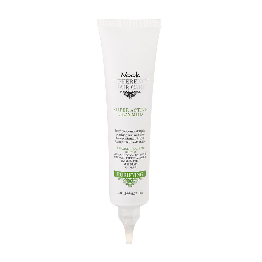 Purifying Super Active Clay Mud Difference Hair Care - Nook - 150 ml