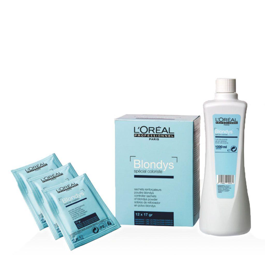 Sachet Éclaircissant Blondys - L\'Oréal Professionnel - 12 sachets de 17 gr